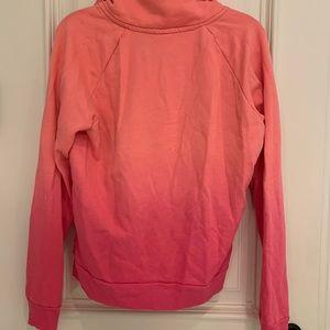 PINK Victoria's Secret Tops - Pink Quarter-Zip Sweatshirt